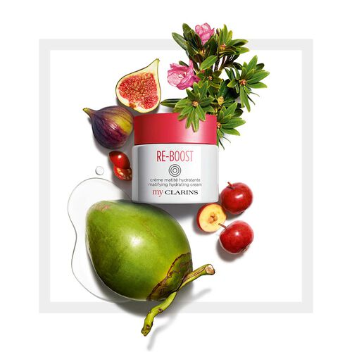 My Clarins RE-BOOST Mattifying Moisturising Cream