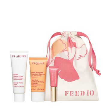 Beautiful & Radiant - Clarins x FEED