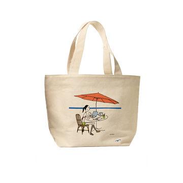 Business Girl Beach Bag