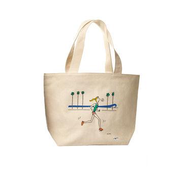 Sporty Girl Beach Bag