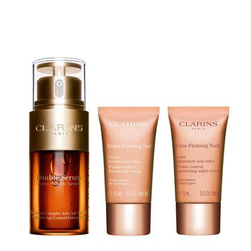 Double Serum & Extra-Firming. Anti-aging routine.