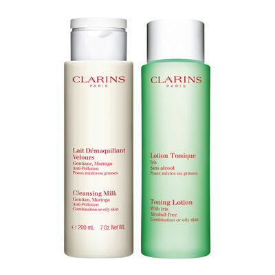 Cleansing Duo for Combination to Oily Skin