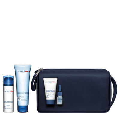 Clarins Men: Everyday heroes