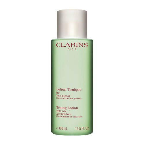 """Toning Lotion With Iris """"Combination/Oily Skin"""" 400ml Luxury Size"""