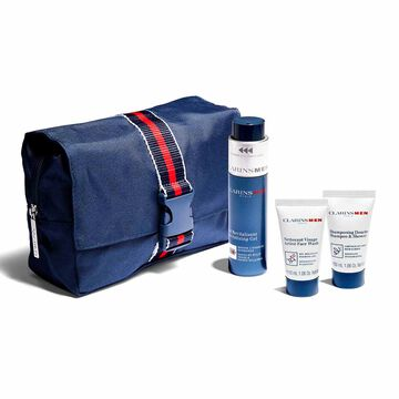 ClarinsMen Essentials for face and body.