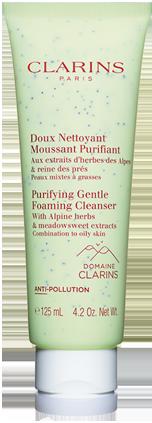 Gentle foaming cleansers packaging