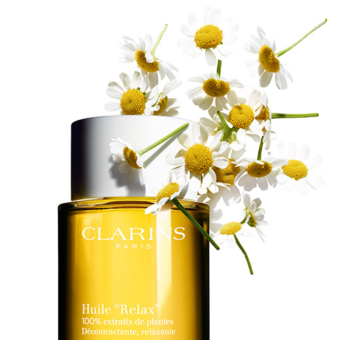 Relax Body Treatment Oil with Chamomile