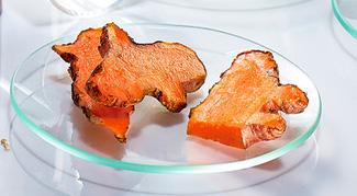 Turmeric cut up