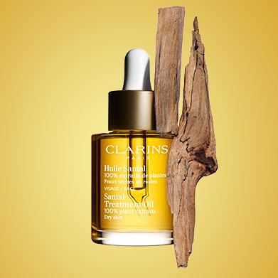 Santal Oil with Santal ingredient