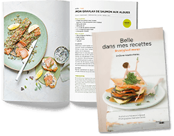 recipe book by Olivier Courtin Clarins