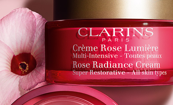 Rose Radiance Cream with Hibiscus pot