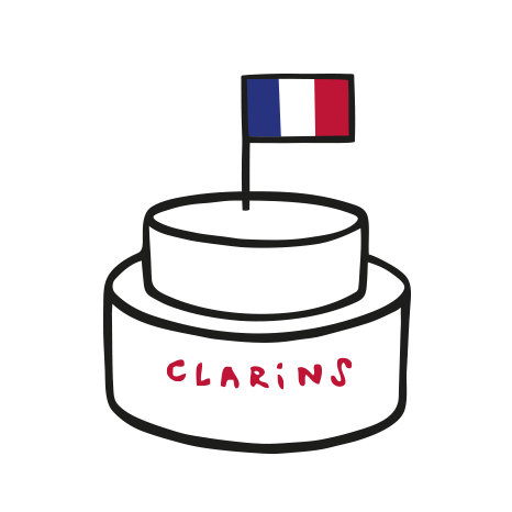 Clarins We Care - Made in France