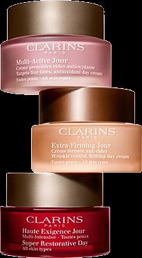 Anti aging creams trio