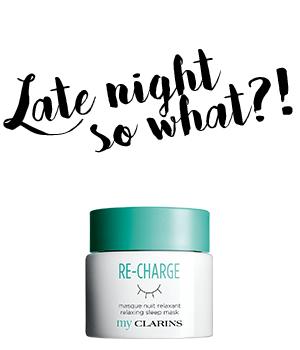 RE-CHARGE Relaxing Sleep Mask