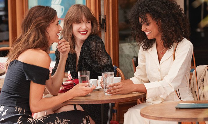 Clarins's refer a friend program