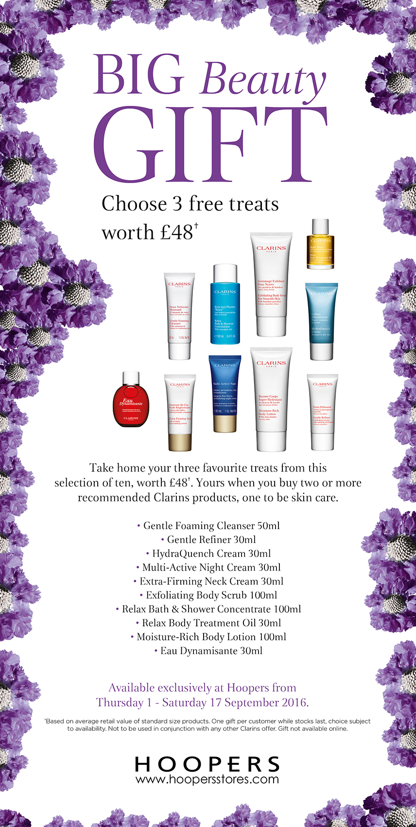 Hoopers Big Beauty Gift Clarins
